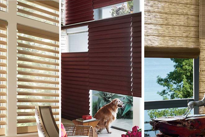 Hunter Douglas Vertical Horizontal Blinds Sheer Shades Sf