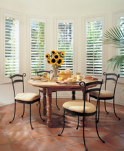 Heritance Hinged Panel Plantation Shutters