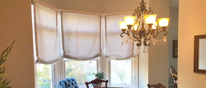 Traditional Roman Shades In San Francisco Ca Blinds And